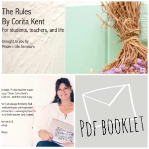 The Rules by Corita Kent